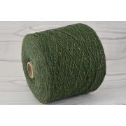 Vergine tweed, Filatura di Pollone Srl  | Меринос 100% | Зеленый