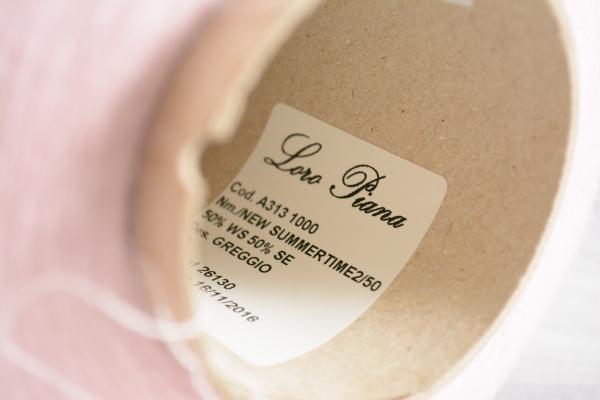 New Summertime, Loro Piana| Кашемир-шелк | Baby pink